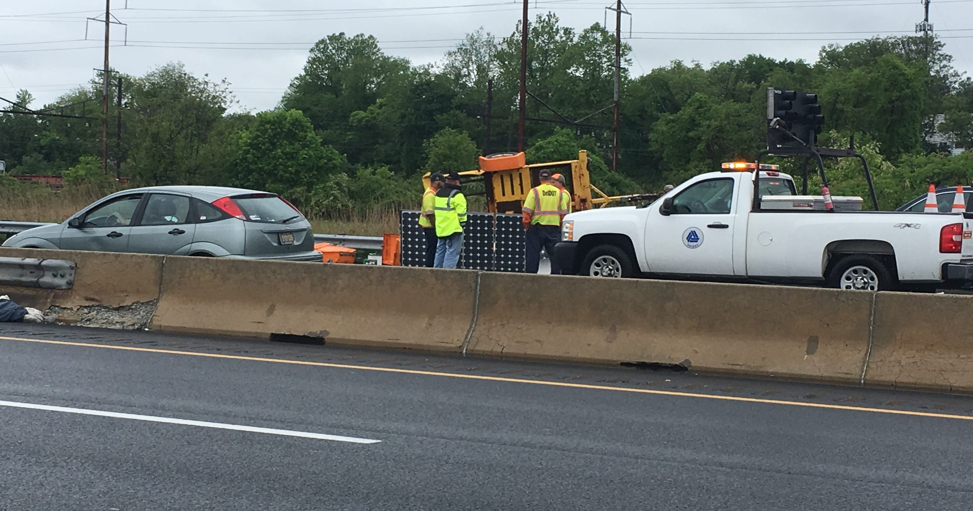 Crash on southbound I-95 in Wilmington has been cleared