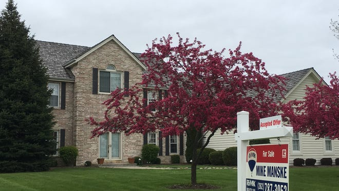 The demand for houses in Wisconsin remains strong.