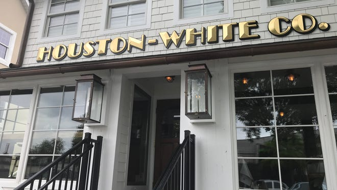 The Houston-White Co., a new steakhouse on Rehoboth Avenue, was formerly a floral shop and former that, a beach residence.