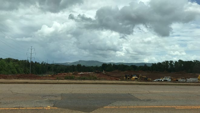 A reader wants to know what is being built on Hwy 183 just north of the site of the former Berea Elementary School