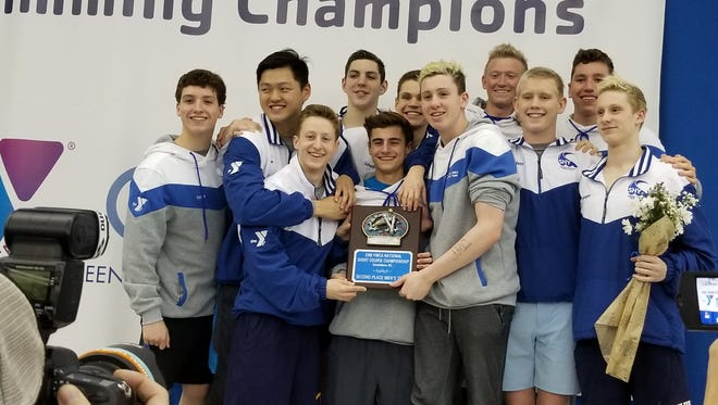 Nationals Qualifiers (Back row, left to right):  Matt Voight, Jon Hua, Jack Alexy, Lukas Scheidl, Ryan Carkhuff, Roo Fenton. (Front row, left to right): Tommy Cromie, AJ Capizzi, Billy Fallon, Dylan Wachenfeld and Joe Castagno. Not pictured: Victor Vollbrechthausen.