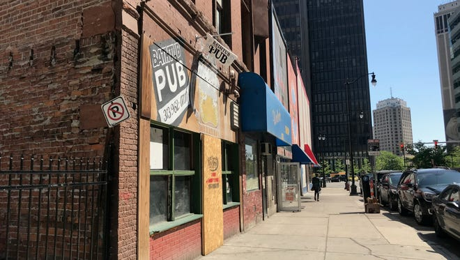 "125 Michigan LLC, operating as ""Garden Pub"" at 125-129 Michigan Avenue in downtown Detroit had its liquor license revoked for serving alcohol to minors. The only pub at the address is St. Brigid's Bathtub, which is shuttered."