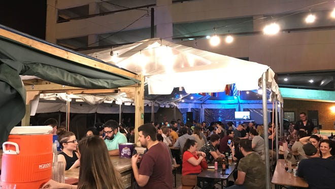 """Lafayette Comedy returns to the Wurst Biergarten Thursday with """"Parks and Recreation"""" Trivia."""