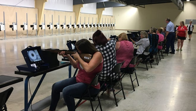 For the past six years, the Women in Conservation series has given women the opportunity to do various activities, including shooting at Camp Perry.