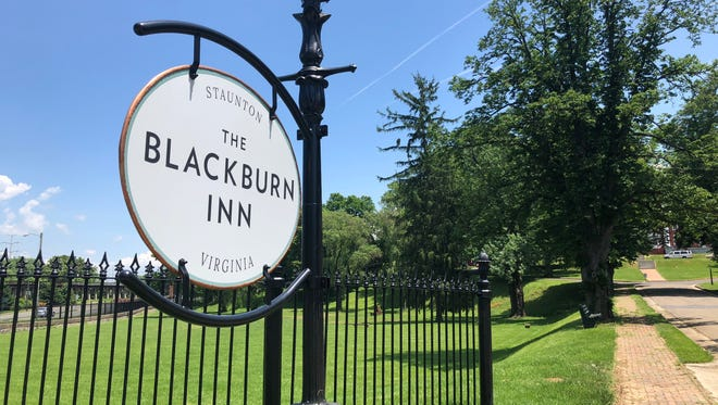 The Blackburn Inn in Staunton will open to the public Memorial Day Weekend.
