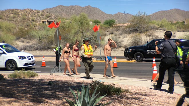 Drivers in Mesa were met with a DUI checkpoint after a day at the lake this Memorial Day. If a driver of a vehicle was suspected of driving while impaired all passengers were asked to exit the vehicle.