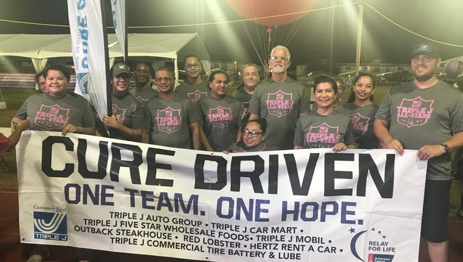 Triple J Enterprises, Inc. joined thousands in the community during Relay for Life on May 25, 2018, in raising funds to support the American Cancer Society's efforts in cancer research, screenings, supporting patient services, and educational programs that give our local cancer patients the gift of time.