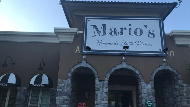 Mario's to reopen as Mario's Homemade Pasta Kitchen in Penfield.