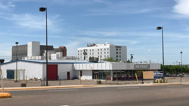 Benefis Health System plans to turn the former Pierce Auto Group lot into a women's and children's health center.
