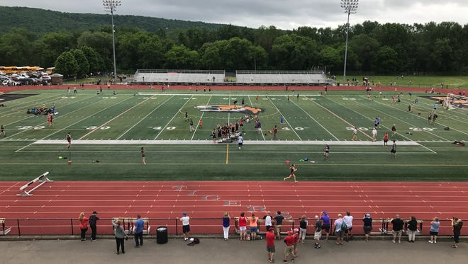 It was an entertaining Day 2 of Section 4's State Track & Field Qualifier at Union-Endicott.