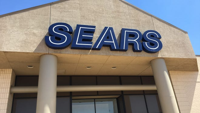 The Sears store, an anchor tenant of the Empire Mall in Sioux Falls.