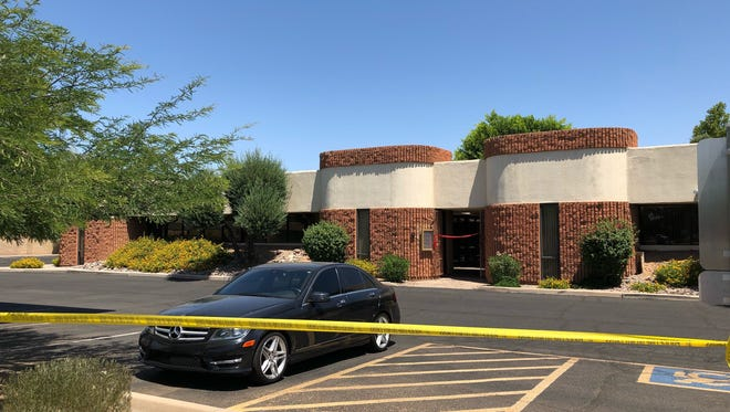 Scottsdale Police are investigating an incident near Hayden and Mountain View roads on June 2, 2018