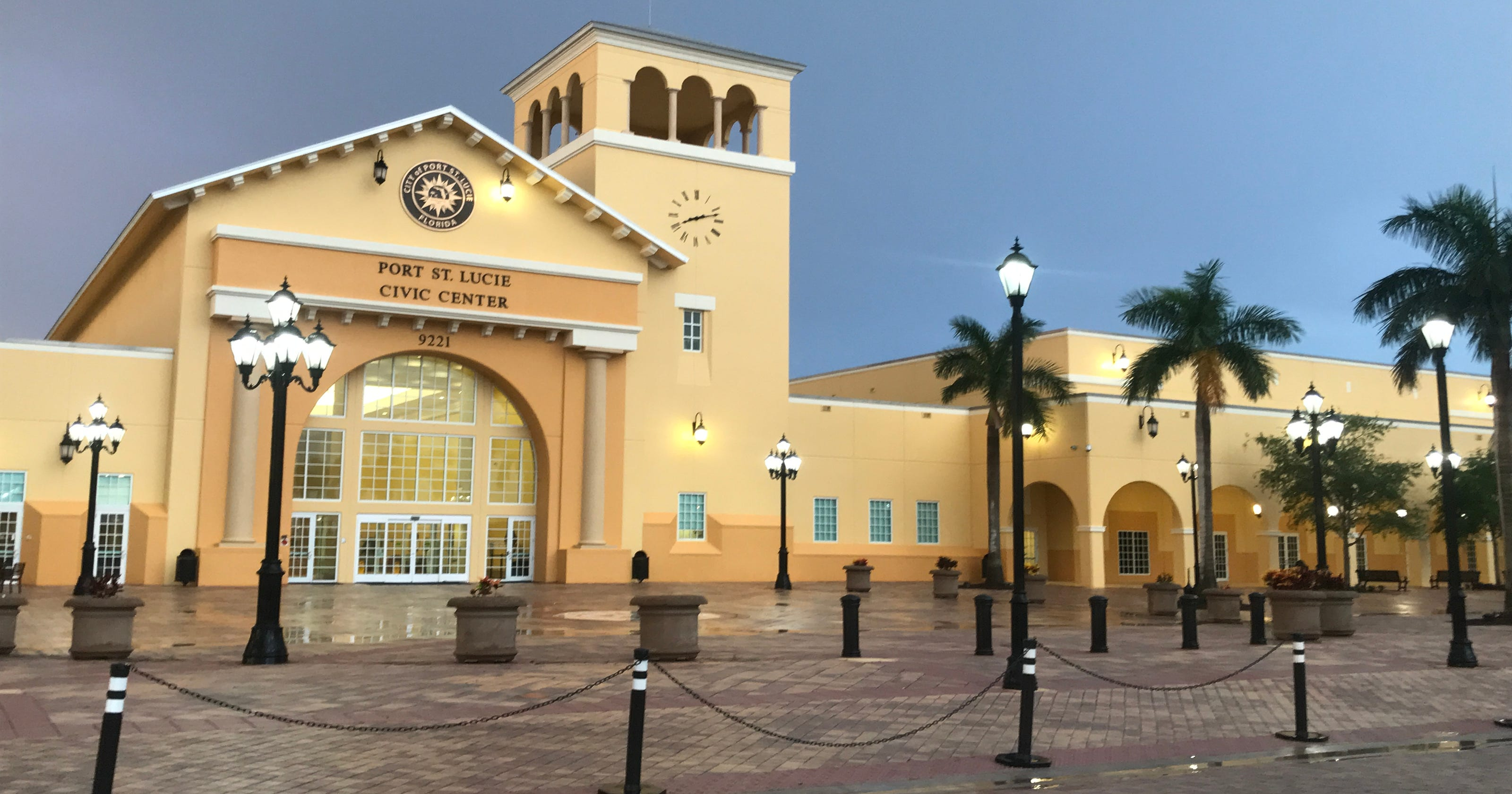 Water Intrusion Damaged Port St Lucie Civic Center Building