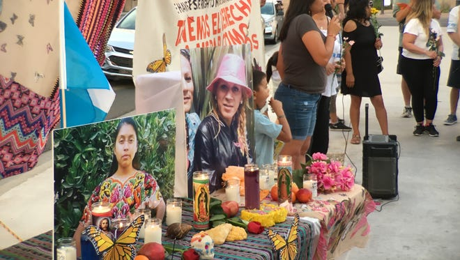 Two Phoenix vigils highlighted the recent deaths of two migrants, one killed by border agents and the other died while in ICE custody.