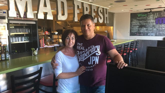 Patrick and Nathalie Schuster bought Mad Fresh in May.