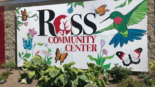 Ross Community Center mural.