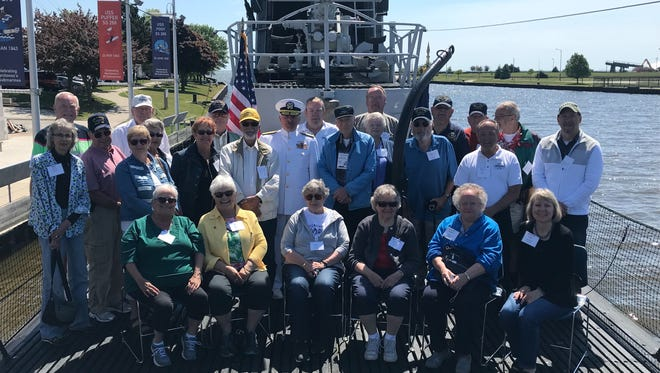 Veterans from throughouth the U.S. gathered at the Wisconsin Maritime Museum Friday to celebrate the 75th anniversary of the commission of the U.S.S. Rasher on June 8, 1943