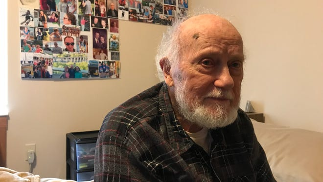 """Wayne Hochmuth, who was vice president of Consoweld in Wisconsin Rapids, is receiving hospice care. """"I feel good about my life,"""" he said."""