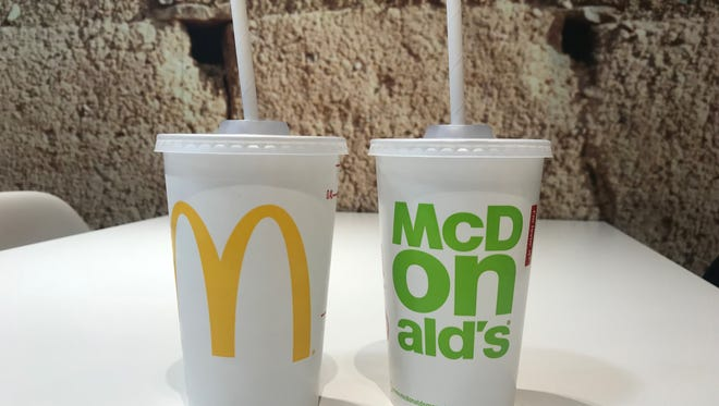In September, McDonald's restaurants in the U.K. and Ireland will begin switching to only paper straws.