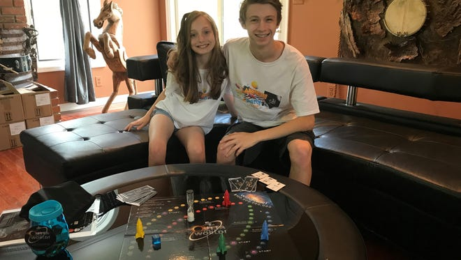 Joey and Heidi Hudicka of Flemington won two awards at the National Invention Convention and Entrepreneurship Expo (NICEE)