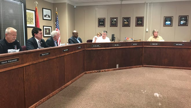 JMCSS Superintendent Dr. Eric Jones did a year in review for his first year on the job for the school board on Monday.