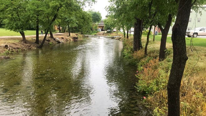 The city of Delafield has begun a $660,000 project to improve the Bark River downtown