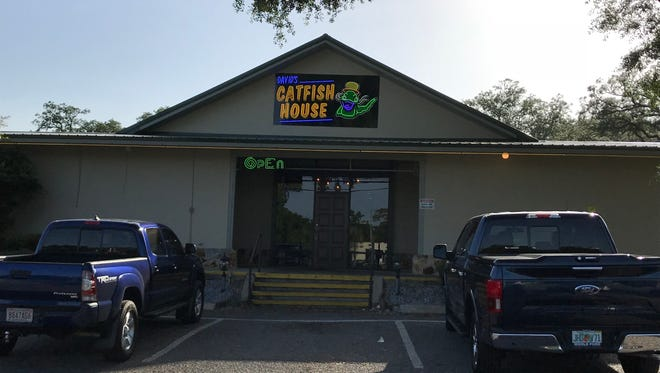 David's Catfish House is at the old Yamato's location on New Warrington Road.