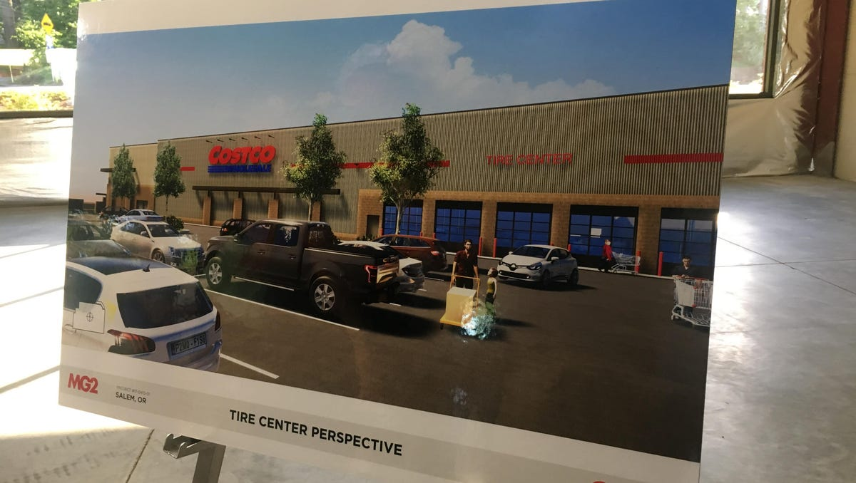 Costco Auto Center >> Salem Approves Site Plan For Costco In Kuebler Gateway