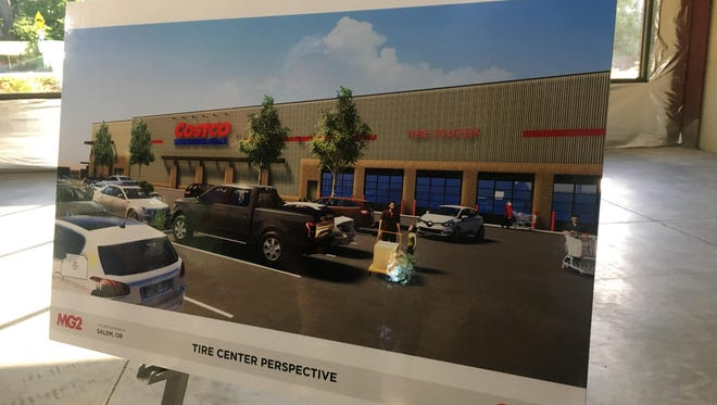 Officials from PacTrust real estate agency and Costco Wholesale spoke with residents of the South Gateway Neighborhood Association at an open house Tuesday, June 19, 2018, in Salem about the proposed move of Costco to Kuebler Blvd.