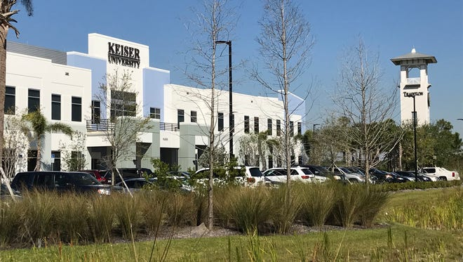 There's already one educational institution, Keiser University, in the Tradition Jobs Corridor.