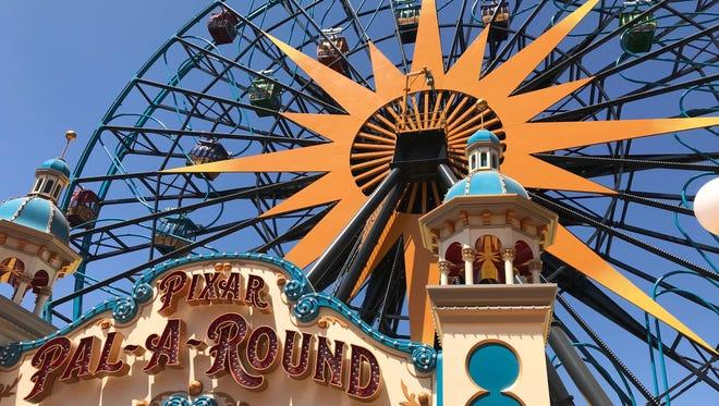 Disneyland unveiled their new Pixar Pier in California Adventure on June 21, 2018, in Anaheim, Calif.