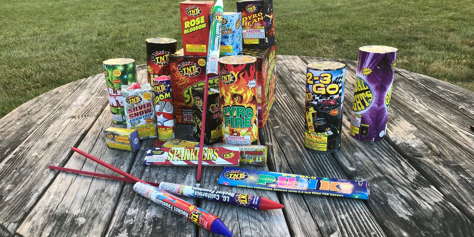 Fireworks are legal in NJ now, and they're everywhere