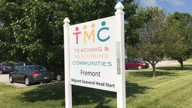 The Teaching & Mentoring Communities sign at 1499 River Rd. will soon change after TMC financing was suspended.