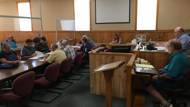 Stewart County commissioners failed to pass a 2018-2019 budget on June 28.