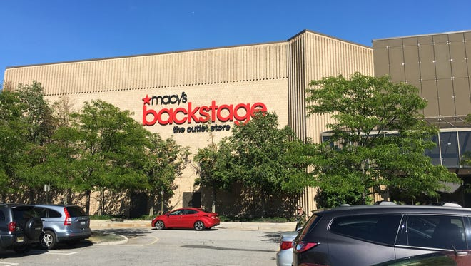 Macy's opened a Backstage store in 2016 inside the Macy's department store at Paramus Park mall. Staff Photo