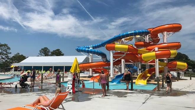 Maui Jack's Waterpark, located on Chincoteague Island, held its grand opening on Friday, June 29, 2018.
