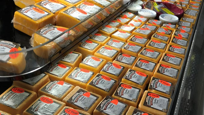 A glut of cheese is sending the cheese futures contract to an all-time low of $1.37 per pound last week.