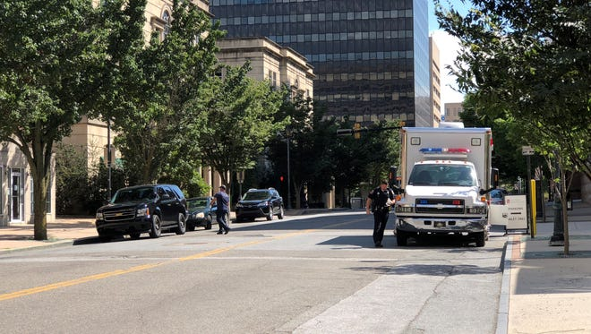 """Roads have reopened in downtown Wilmington after officers investigate a suspicious package found it to be """"harmless."""""""
