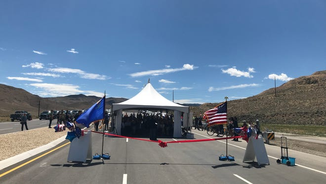 A ceremony with U.S. Sen. Dean Heller and other local dignitaries marked the opening of the Southeast Connector on Friday, July 6. The roadway will connect Sparks to Southeast Reno, with the intention of alleviating congestion off the Interstate 80 and I-580 arteries.