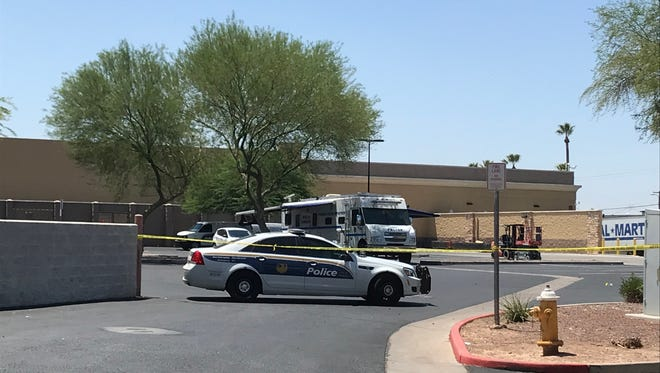 Phoenix police are investigating a homicide near Bethany Home Road and 35th Avenue on July 7, 2018.