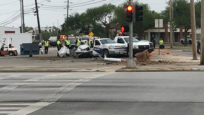 San Angelo police are investigating a fatal crash July 10, 2018 at the intersection of Ave. N and Sherwood Way.