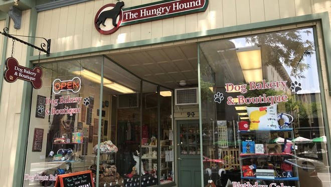 All of the baked goods sold at The Hungry Hound are made on the premises.