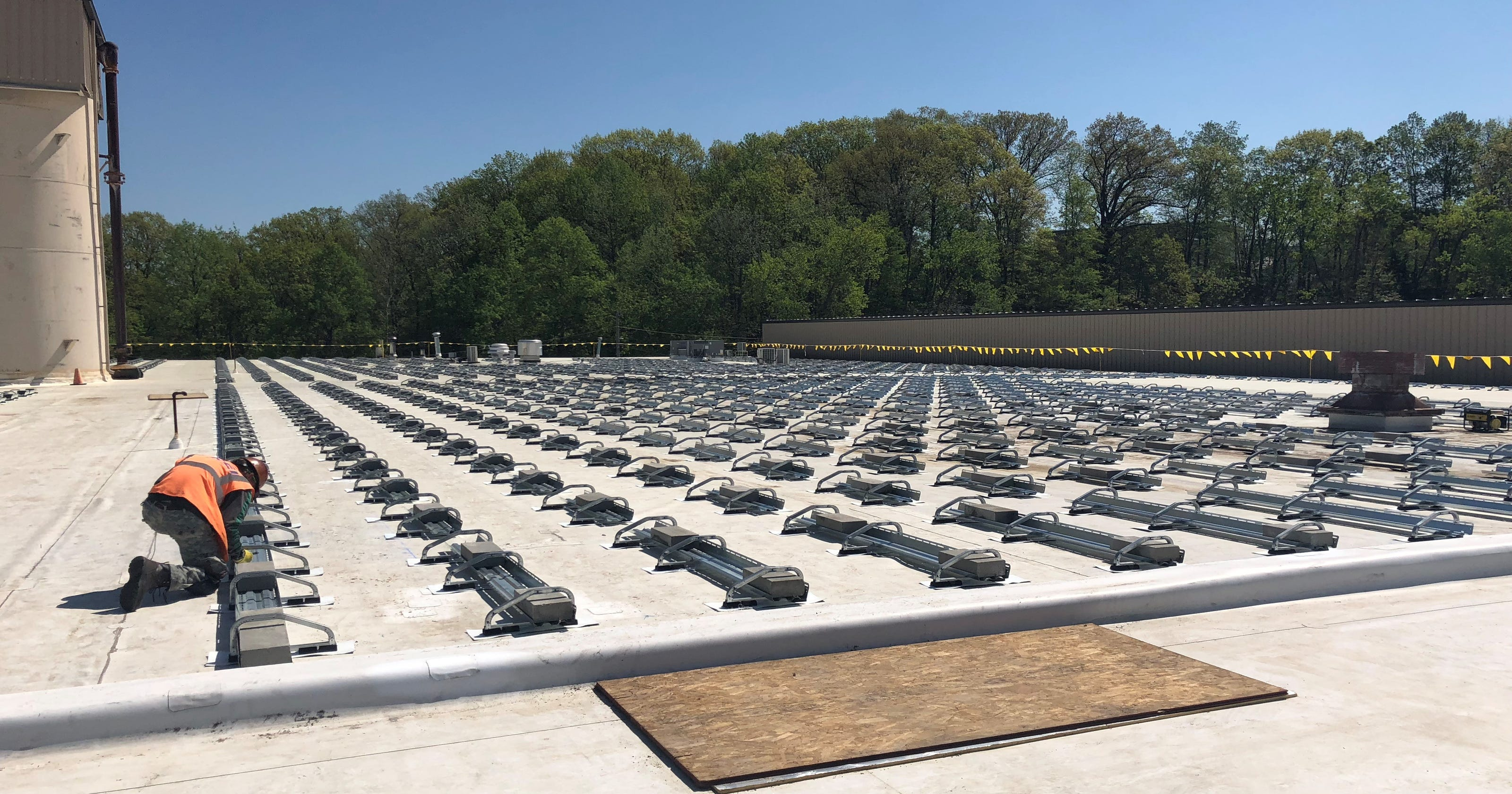 Buchanan rooftop solar project will be state's largest