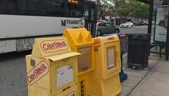 Belleville looks to Lyndhurst for regulations that govern street corner newspapers racks