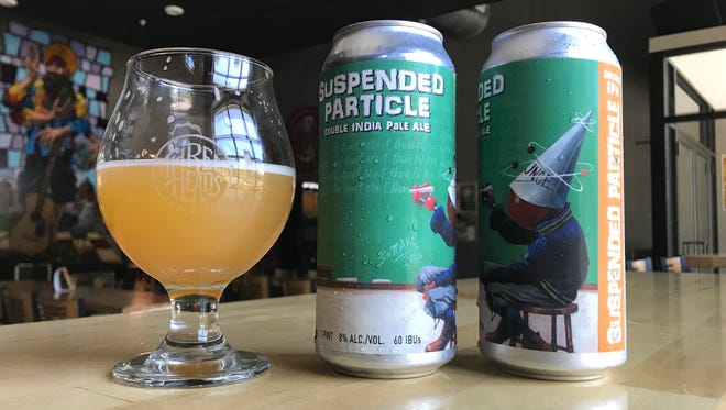 Three Heads Brewing Suspended Particle DIPA