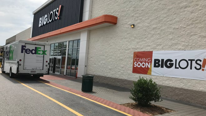 Big Lots has renovated the former HHgregg storefront in Anderson Station