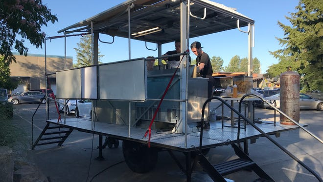 The Tasty Trailer will be cooking up food to accompany events both on and off-site at Gilgamesh Brewing.
