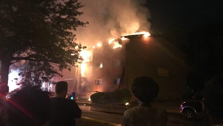 Fire destroys multiple units at Village Inn Apartments