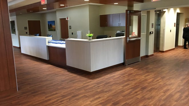 The Dewey Center, is a 75,400 square foot facility located on the campus of Aurora Psychiatric Hospital in Wauwatosa that increases access to substance abuse treatment in the region.A ribbon cutting was held on July 21.