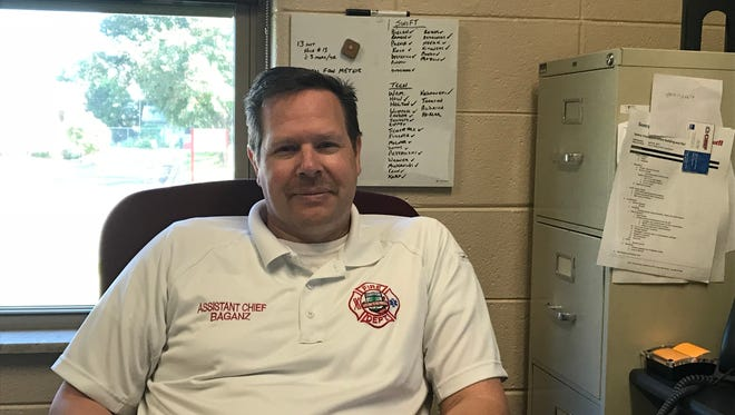 Stevens Point Assistant Fire Chief Jodi Baganz's last day at the department is Thursday.